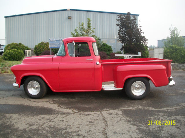1957 Chevy 1 2 Ton Step Side Truck For Sale Chevrolet