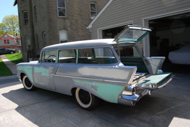 1957 chevy 150 handyman 2 door station wagon california for 1957 chevy 2 door wagon for sale