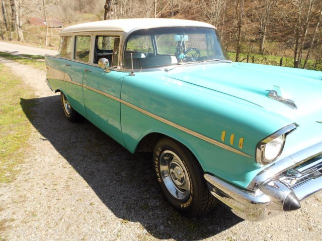 1957 chevy 4dr bel air station wagon for sale chevrolet bel air 150 210 1957 for sale in. Black Bedroom Furniture Sets. Home Design Ideas
