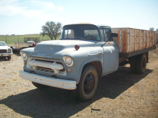 1957 chevy 6100 grain truck for sale chevrolet other 1957 for sale in sayre oklahoma united. Black Bedroom Furniture Sets. Home Design Ideas