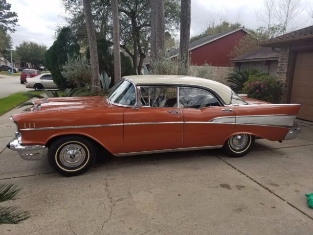 1957 chevy bel air -4 door hardtop for sale