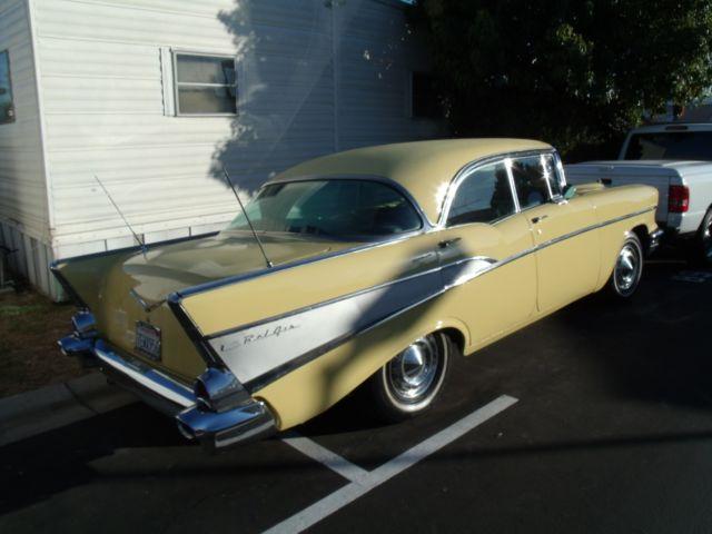 1957 chevy bel air 4 door passenger hard top for sale for 1957 chevy 210 4 door