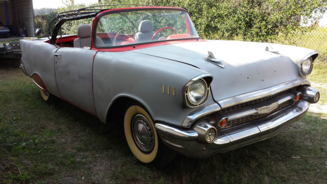 1957 chevy bel air convertible running project for sale chevrolet bel air 150 210 1957 for. Black Bedroom Furniture Sets. Home Design Ideas
