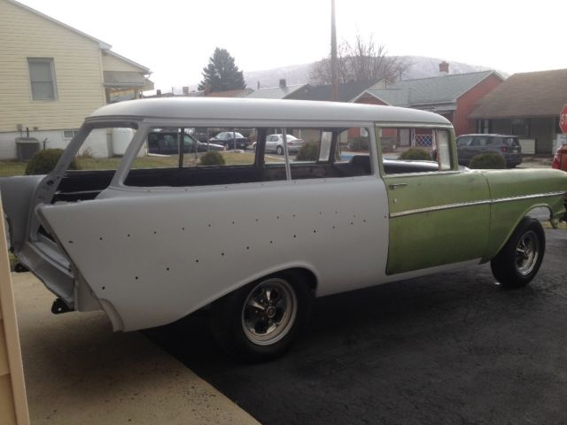 1957 chevy belair 2 door wagon for sale chevrolet bel for 1957 chevy two door wagon