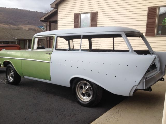 1957 chevy belair 2 door wagon for sale chevrolet bel