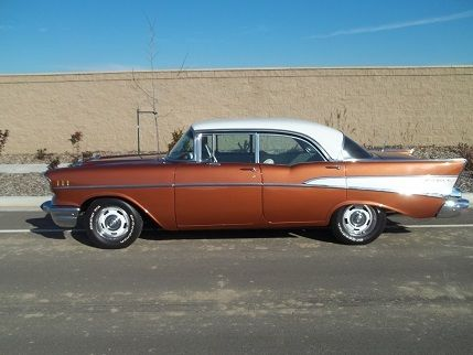 1957 chevy belair 4 door hard top for sale chevrolet bel for 1957 chevrolet 4 door