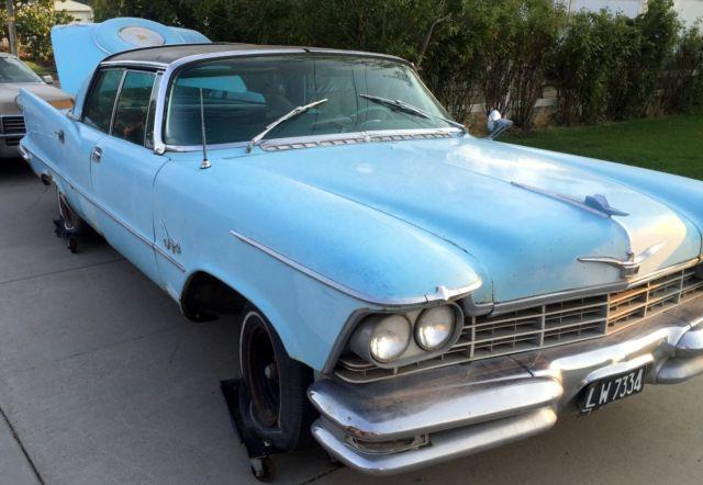 1957 chrysler imperial 4 door hardtop 392 hemi for sale for 1957 dodge 2 door hardtop