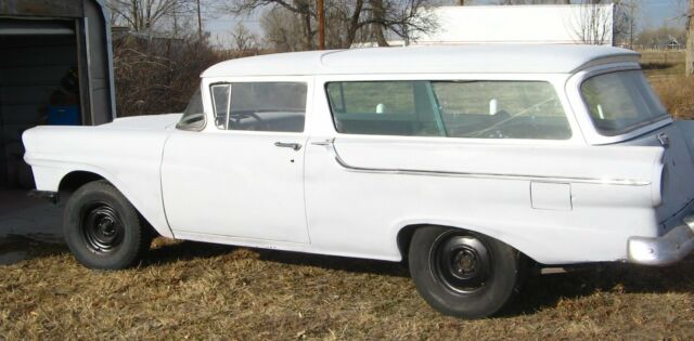 1957 Ford 2 door Ranch Wagon Project car for sale - Ford Other 1957