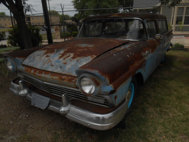 1957 ford custom ranch wagon two door was dresden blue for 1957 ford 2 door ranch wagon sale