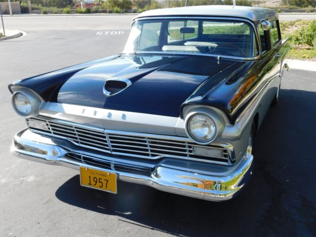 1957 FORD DEL RIO STATION WAGON     CALIFONIA CAR   WOW for sale
