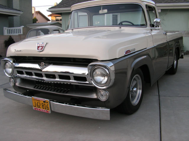 1957 Ford F100 Custom Cab Truck Pickup For Sale Ford F