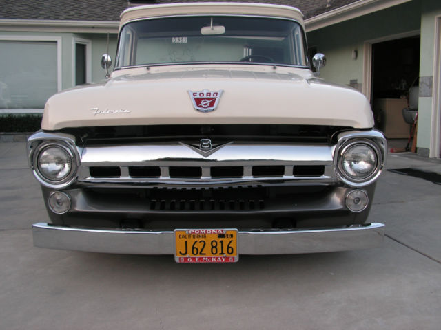 1957 FORD F100 CUSTOM CAB TRUCK PICKUP for sale - Ford F ...