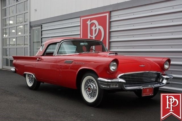 1957 Ford Thunderbird E Thunderbird 0 Flame Red For Sale Ford