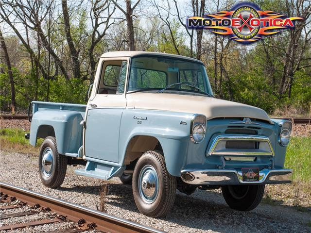 1957 International-Harvester A120 ¾-Ton 4×4 Pickup for ...