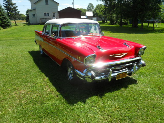 1957 original and restored 4 door belair for sale for 1957 chevy 210 4 door