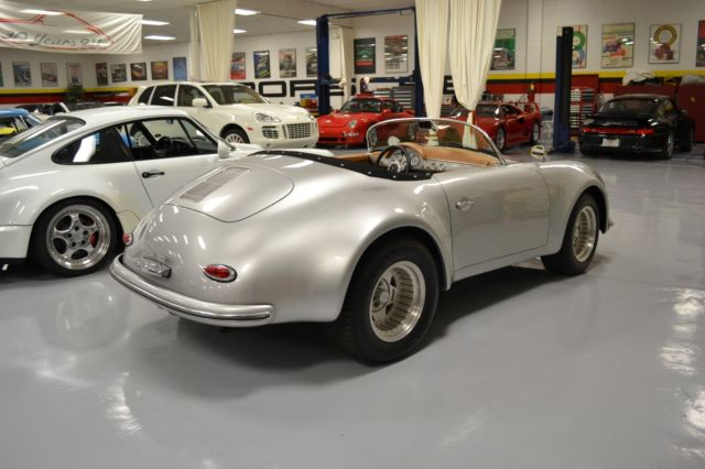 1957 Porsche 356 Replica 11568 Miles Racing Silver Super