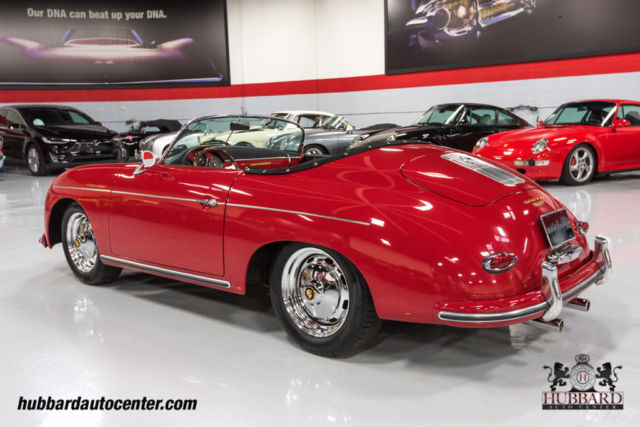 1957 Porsche 356 Speedster Replica Brand New Build W Highest Quality Available For Sale