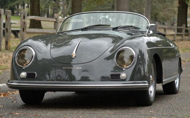 1957 Porsche 356A Speedster - Rare Slate Gray - Low miles