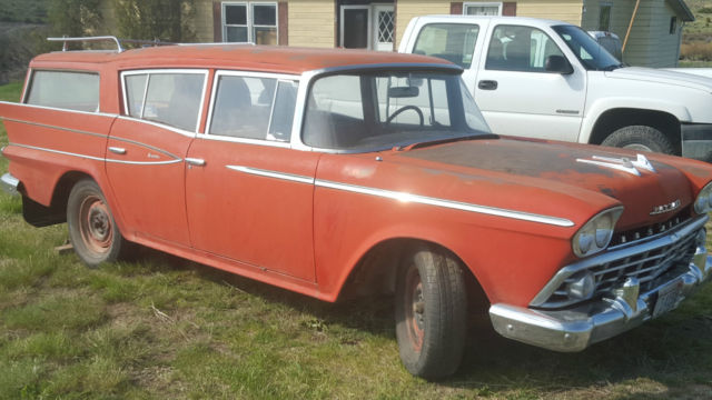 1957 rambler cross country wagon for sale amc rambler. Black Bedroom Furniture Sets. Home Design Ideas