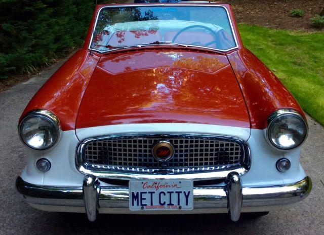 "1957 Red Nash Metropolitan Convertible ""Movie Star"" Car"