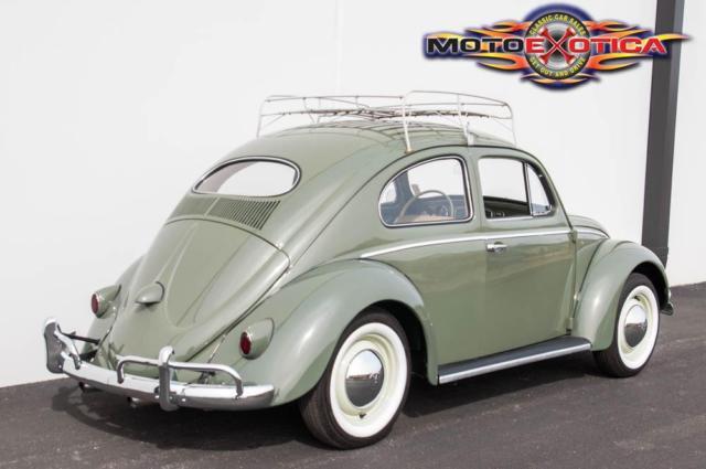 1957 Volkswagen Beetle Oval Window Beautifully Restored