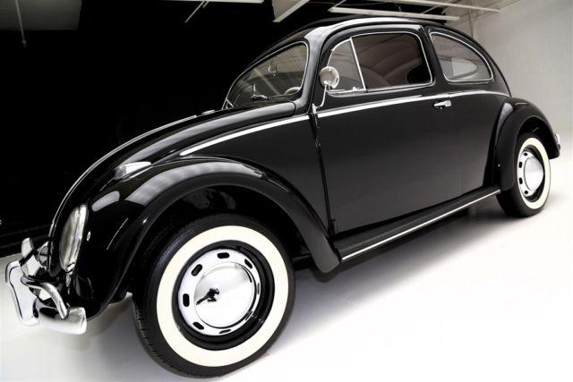 1957 volkswagen beetle sunroof oval window manual sedan for 1957 oval window vw bug