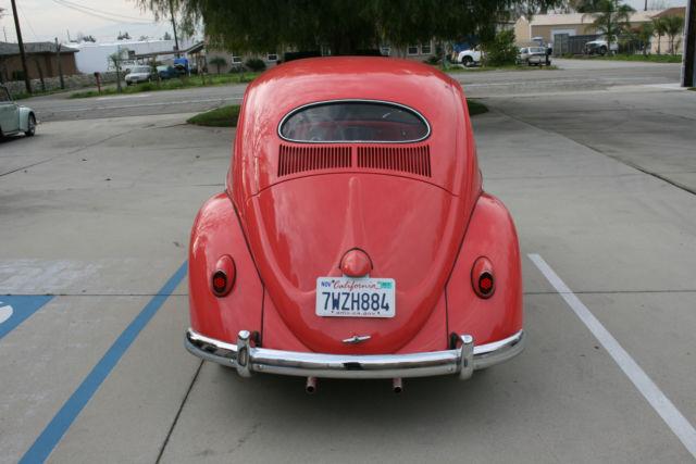 1957 Volkswagen European Model Oval Window Vw Bug 1954 1955