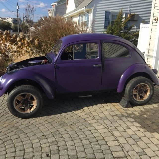 Vw Bug Drag Motor: 1957 Volkswagen Modified VW Custom V8 Drag Hot Rod Rat