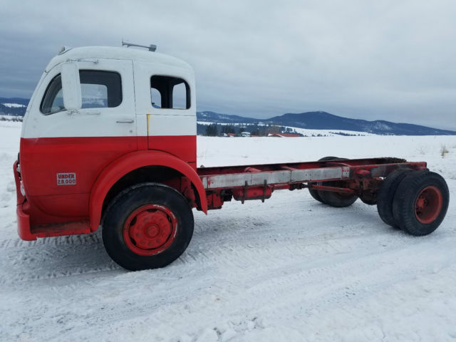 Topkick For Sale >> 1957 WHITE 3000 COE CABOVER X-CAB TRUCK: KUSTOM HOT RAT ROD TOPKICK GASSER for sale - Other ...