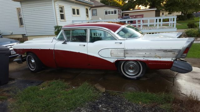 1958 Buick Century Base Sedan 4 Door 6 0l For Sale Buick