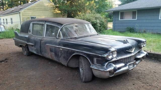 1958 Cadillac Superior Hearse for sale - Cadillac Other ...