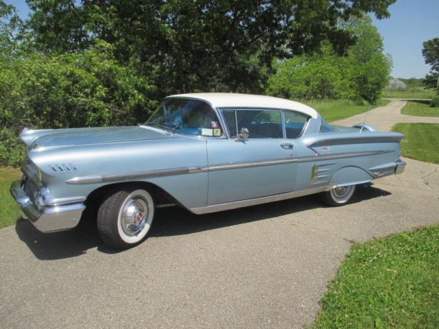 1958 chevrolet chevy impala 2 door 348 v8 2 speed for Chevy v8 motors for sale