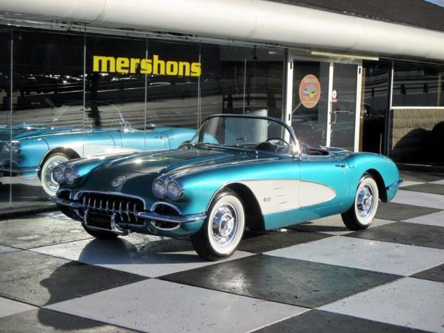 1958 Chevrolet Corvette Roadster - Original 283, Automatic