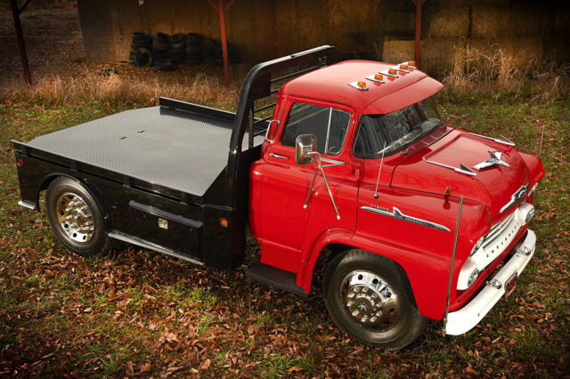 Truck Beds For Sale >> 1958 Chevrolet Viking 50 LCF COE Hauler 1 1/2 Ton Frame Off Restoration Truck for sale ...