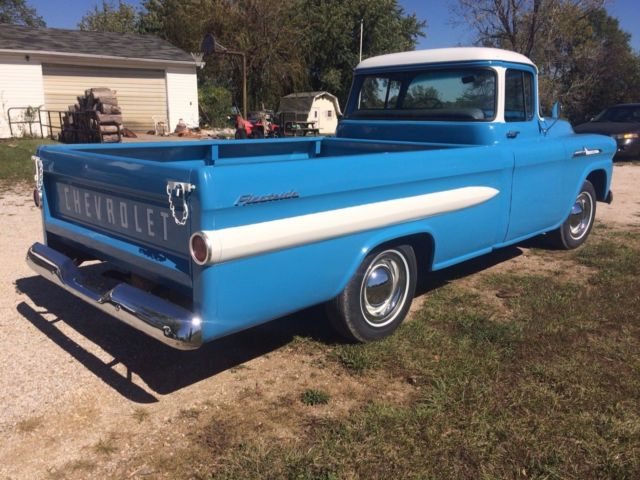 1958 chevy 3200 apache for sale chevrolet other pickups 1958 for sale in excello missouri. Black Bedroom Furniture Sets. Home Design Ideas