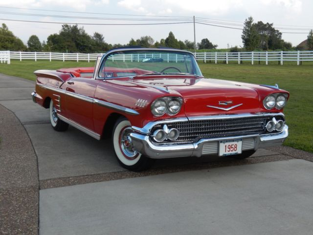 1958 chevy impala convertible 348ci all new all custom hot rod 56 57 58 59 for sale chevrolet. Black Bedroom Furniture Sets. Home Design Ideas