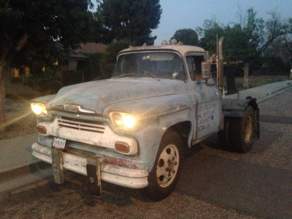 1958 chevy viking 60 tow truck for sale chevrolet viking 60 tow truck 1958 for sale in hemet. Black Bedroom Furniture Sets. Home Design Ideas