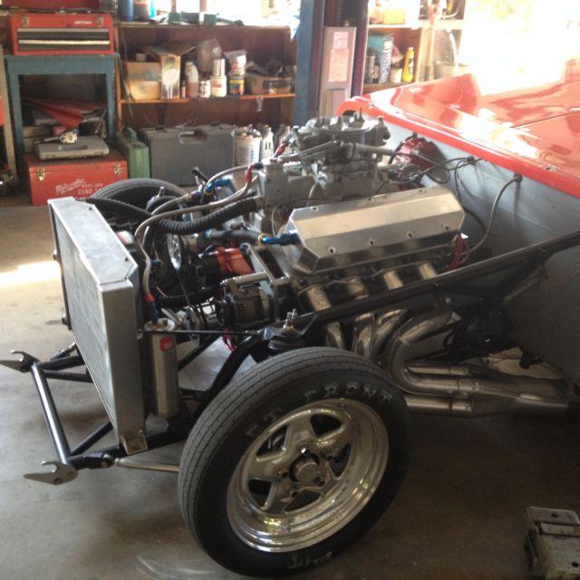 1958 Corvette Drag Race Car Super/gas, Super/comp, Super
