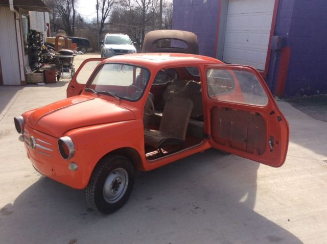 1958 fiat 600 for sale