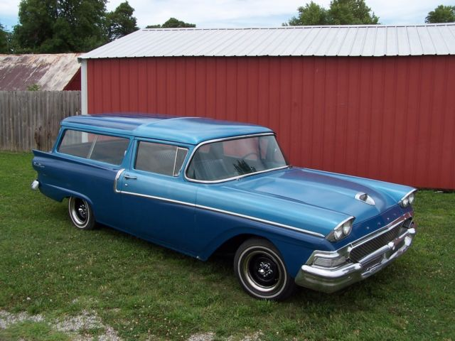 1958 ford 2 door ranch wagon solid ie crown victoria 1956 for 1956 ford wagon 2 door