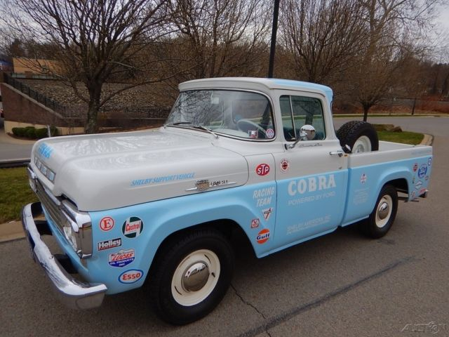 1958 ford f 100 xl shelby pick up truck very clean for sale ford f 100 1958 for sale in. Black Bedroom Furniture Sets. Home Design Ideas