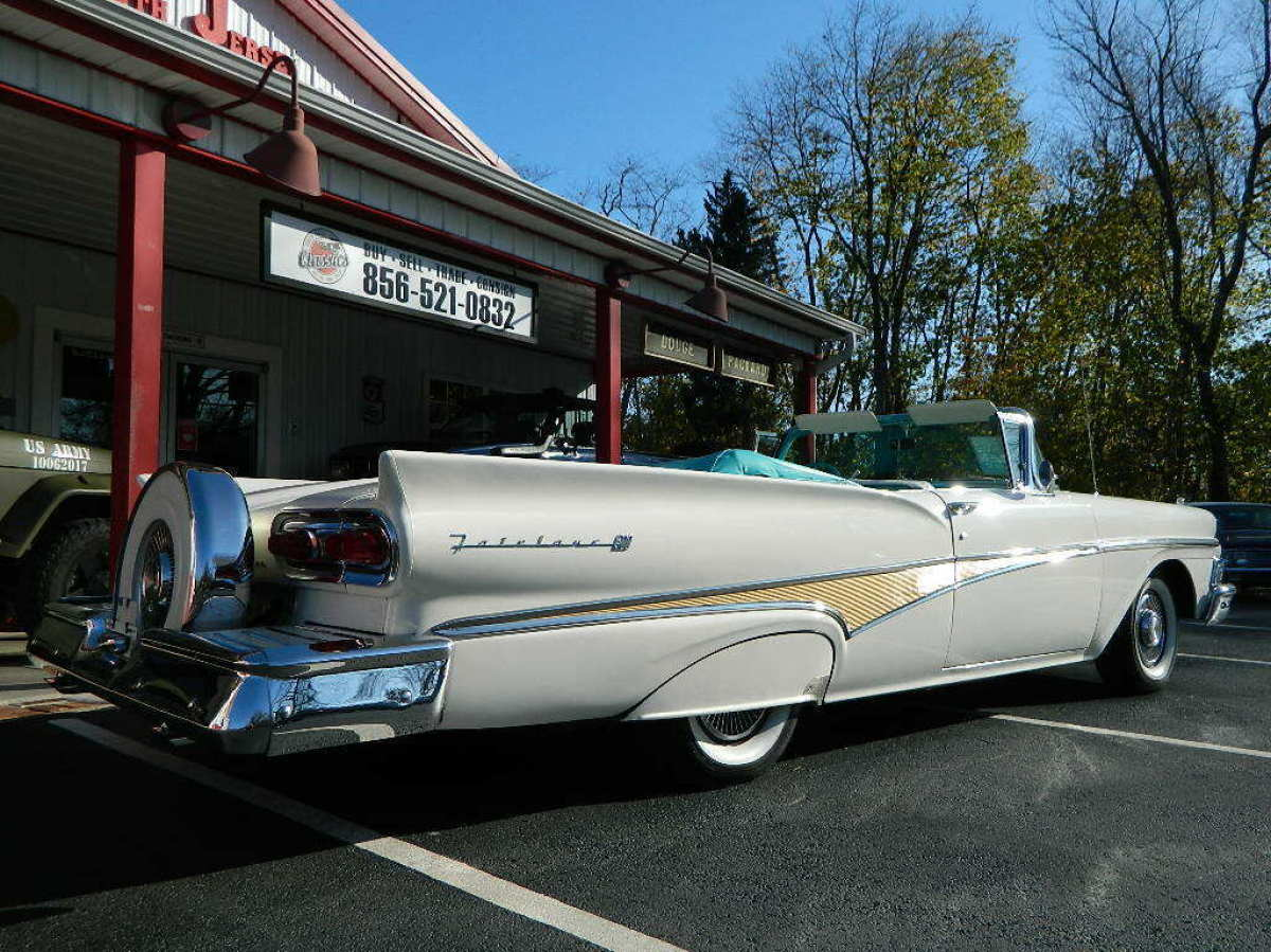 1958 Ford Fairlane 500 Sunliner Convertible For Sale Ford Fairlane 1958 For Sale In Sewell New Jersey United States