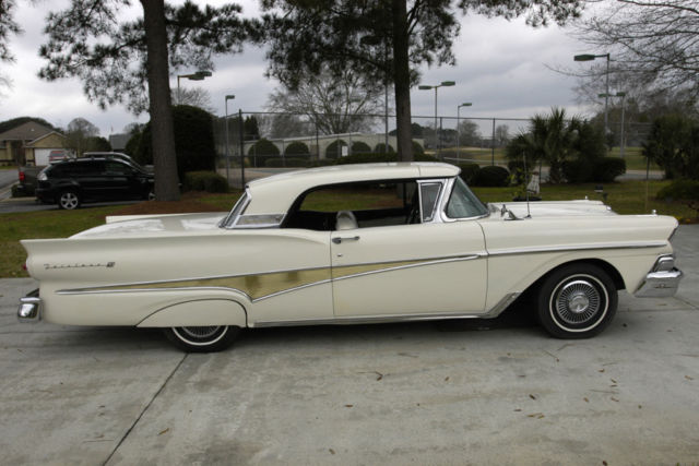 1958 Ford Skyliner Retractable Hardtop For Sale Ford