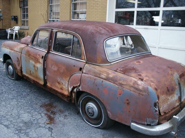 1958 mercedes benz 220 sedan parts car mb 220 benz 220 for Mercedes benz classic car parts