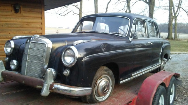 1958 mercedes benz 220s all original solid body needs for 1958 mercedes benz 220s for sale