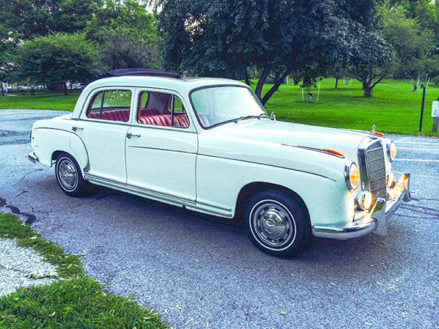 1958 mercedes benz 220s w180 ii for sale mercedes benz for Mercedes benz henrietta ny