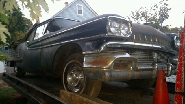 1958 oldsmobile eighty eight rocket 350 v8 complete project