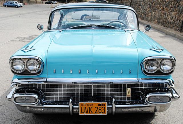1958 Pontiac Bonneville Tri-Power for sale - Pontiac
