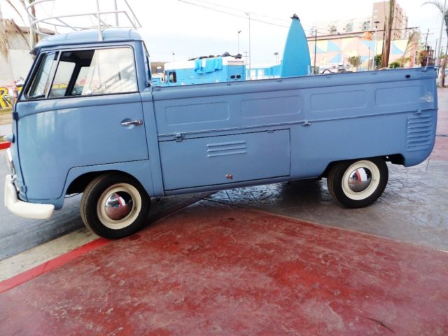 1958 Restored Rare Vw Sc Pickup Ca Beach Cruiser For