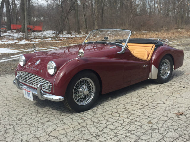 1958 triumph tr3 fresh restoration over drive leather interior 1 tr4 wiring diagram mga wiring diagram wiring diagram ~ odicis tr4 wiring harness at suagrazia.org